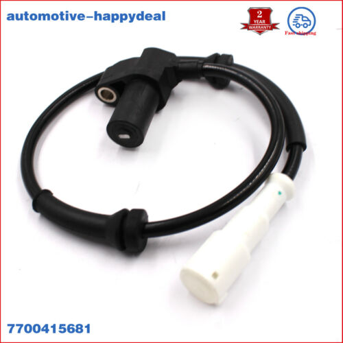 0265006383 ABS Wheel Speed Sensor 7700411747 7700415681 WS6383 Fit Renault Clio