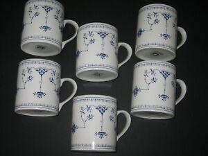 Rare-Churchill-Helsinki-Finlandia-Smooth-Edge-geometric-handle-Mug-up-to-6-avail
