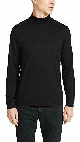 Theory Men/'s Cotton Cashmere Funnel Turtleneck Choose SZ//color