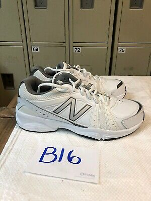Training Shoes White Gray Mens Size