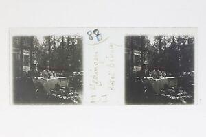 Suisse Meiringen Hotel Druning Foto Stereo T2L9n1 Placca Da Lente Vintage