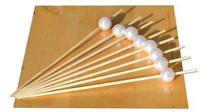 Oriental Pearl Spiedino In Bambù 12cm X 500-goto-mostra Il Titolo Originale