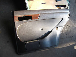 Image is loading MERCEDES-W126-S-CLASS-SE-REAR-DRIVERS-SIDE- & MERCEDES W126 S CLASS SE REAR DRIVERS SIDE MB TEX DOOR CARD BROWN ... Pezcame.Com