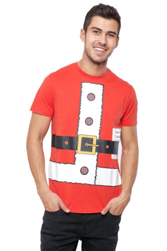 Seasons Greetings Homme Santa Dress up Noël T Shirt Nouveauté Noël Hiver Tee