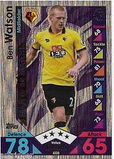 2016 / 2017 EPL Match Attax Man of the Match (450) Ben WATSON Watford