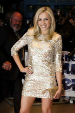 ICONIC BNWT 16 FRENCH CONNECTION GOLD WHITE PRINCESS SEQUIN BODYCON PARTY DRESS