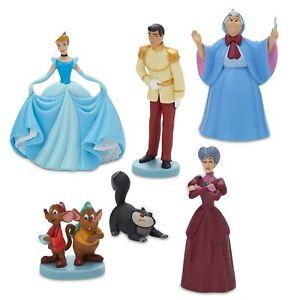 Disney-Princesse-Cendrillon-70th-Anniversaire-Figurine-6-Set-de-Jeux