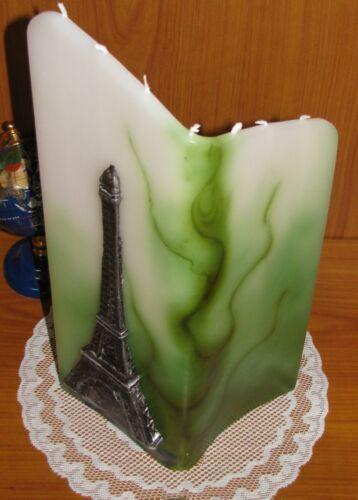 7-Mèche-Bougie Différents Designs tour Eiffel poussins ROSES Différentes Couleurs