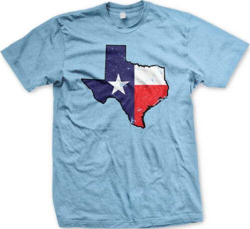 Texas State Flag Faded One Star Tejas Dont Tread On Me Lonestar New Mens T-shirt