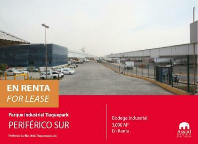BODEGA EN RENTA PERIFERICO SUR / INDUSTRIAL WAREHOUSE FOR LEASE SOUTH PERIFERICO DESDE 3,300 M2  ...