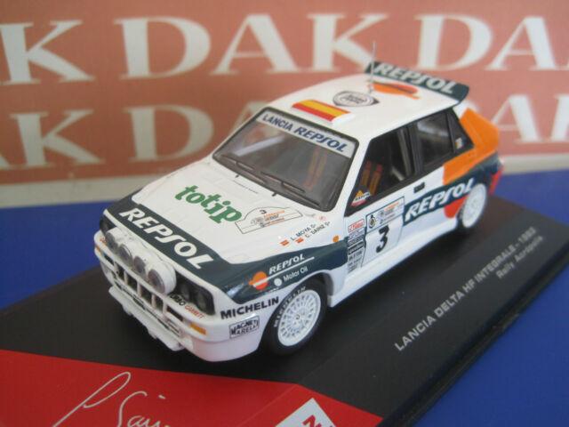 Die cast 1/43 Modellino Auto C.Sainz Lancia Delta Int. HF Rally Acropolis 1993