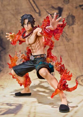 Anime One Piece Portgas·D· Ace Battle Version PVC Figure Toy Gift 13cm Loose