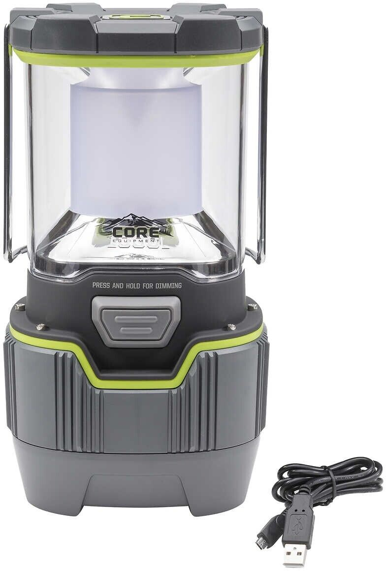 CORE 1000 Lumen Rechargeable LED Lantern    No Tax in Most States  large discount