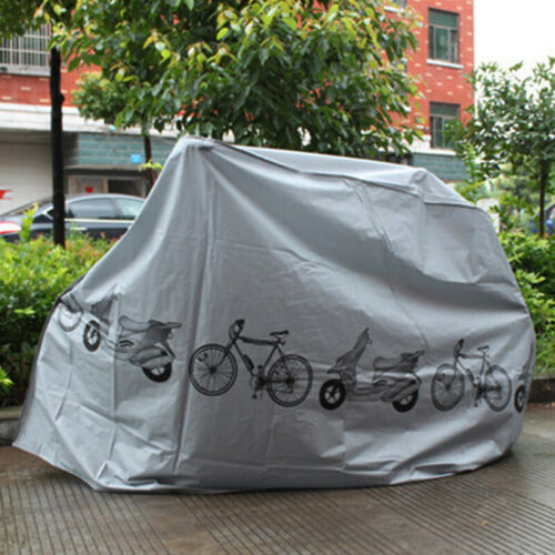 Bicycle Rain Sun Cover Dust Dirt Sunburn Protector Polyester Fibre Motorcycle