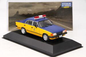 ALTAYA-1-43-IXO-Chevrolet-Opala-Policia-Federal-Rodoviaria-Modelo-Diecast-Coche-de-juguete