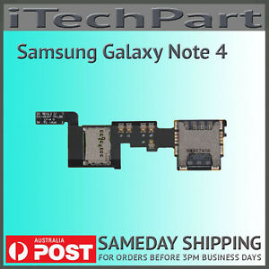 Genuine samsung galaxy note 4 n910f sim tray sd card reader image is loading genuine samsung galaxy note 4 n910f sim tray reheart Image collections