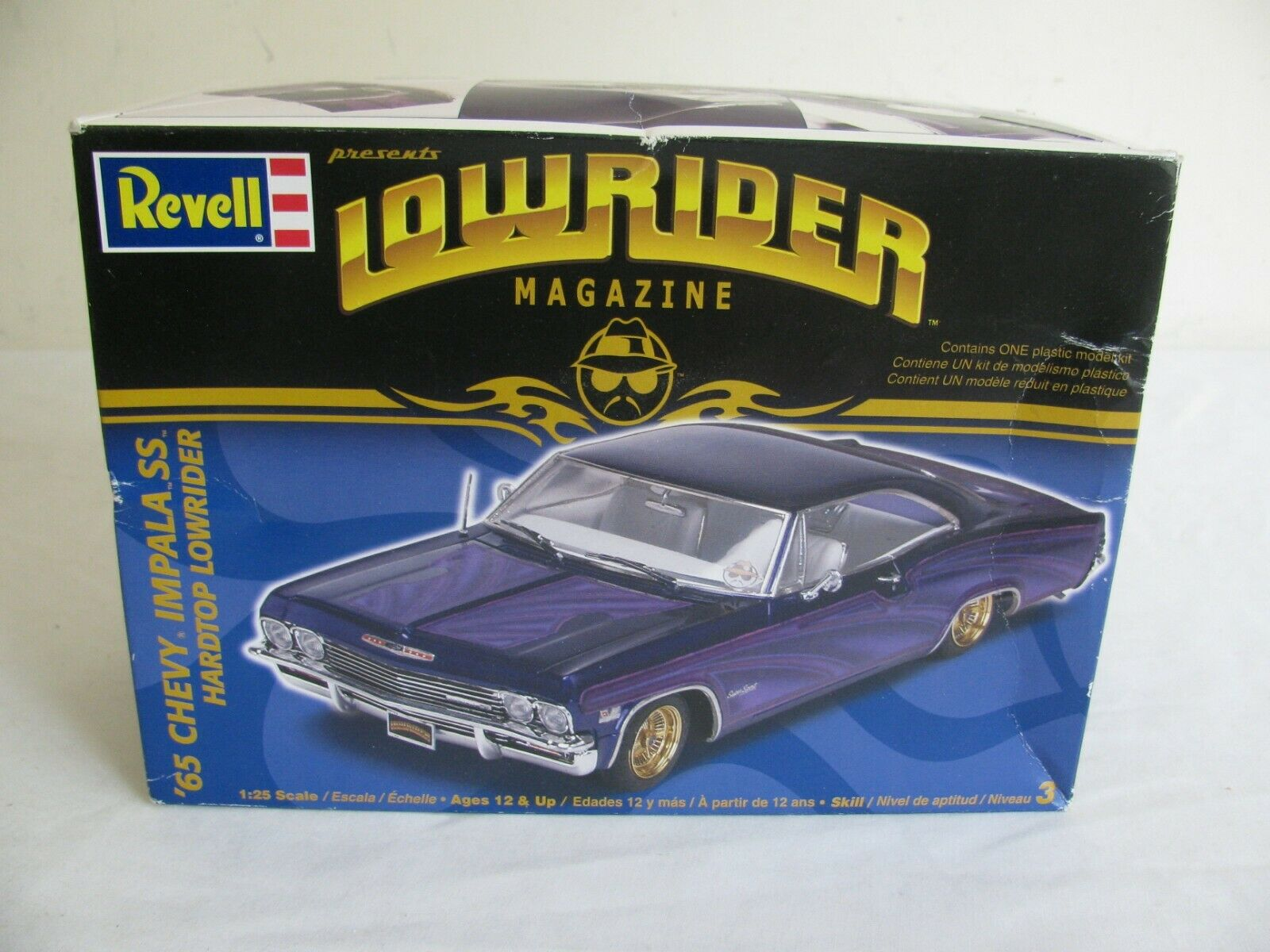 Revell Lowrider Magazine 1 25 Scale 1965 Chevrolet Impala SS Hardtop NIB