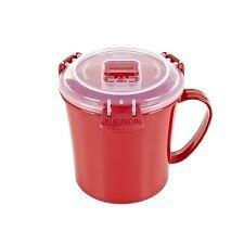 Klip It Soup & Noodle Microwave Travel & Lunch Mug (656ml)