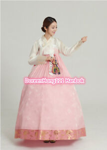 Image Is Loading Women Hanbok Dress Custom Made Korean Traditional