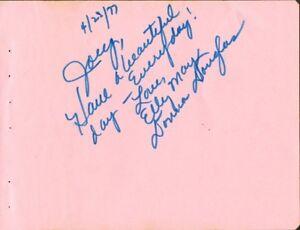 DONNA-DOUGLAS-Autograph-Beverly-Hillbillies