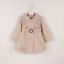 Girls-Double-Breasted-Ruffle-Trench-Coat-Long-Sleeve-Lace-Princess-Jacket-Dress thumbnail 8