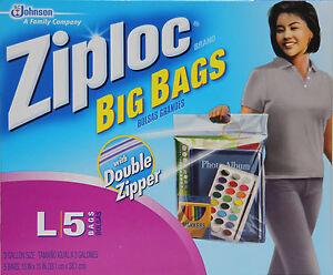 Image Is Loading 8 Ziploc Bags L 40 3