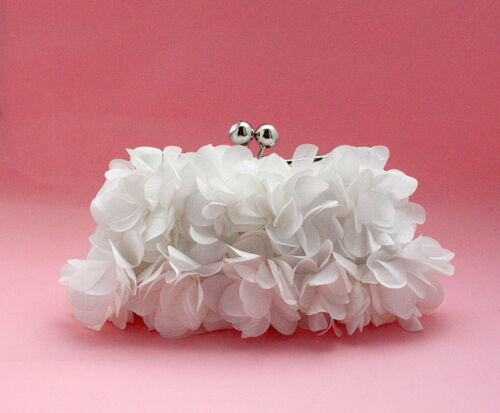 UK Satin Evening Prom Clutch Wedding Clutch Bag purse 5 Express Delivery