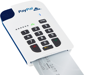 image is loading paypal here credit card reader mobile bluetooth payment - Paypal Credit Card Swiper
