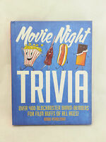 Movie Night Trivia Hardcover Book By Robb Pearlman