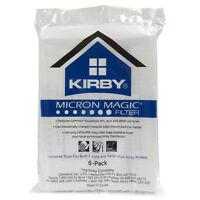 6 white hepa cloth universal kirby bags fits all kirbys g 4 sentria 1 belt Vacuum Cleaner Accessories