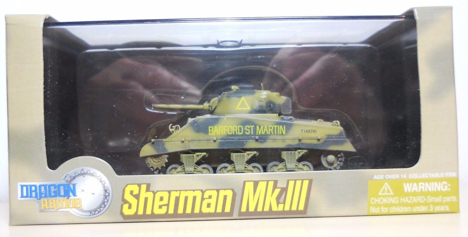 Dragon Armor 1 72 scale char Sherman Mk.111  A  SQD. Royal Wiltshire Yeomanry