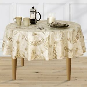 Beau Image Is Loading Boxed Fern Flannel Backed Vinyl Tablecloth Indoor Outdoor