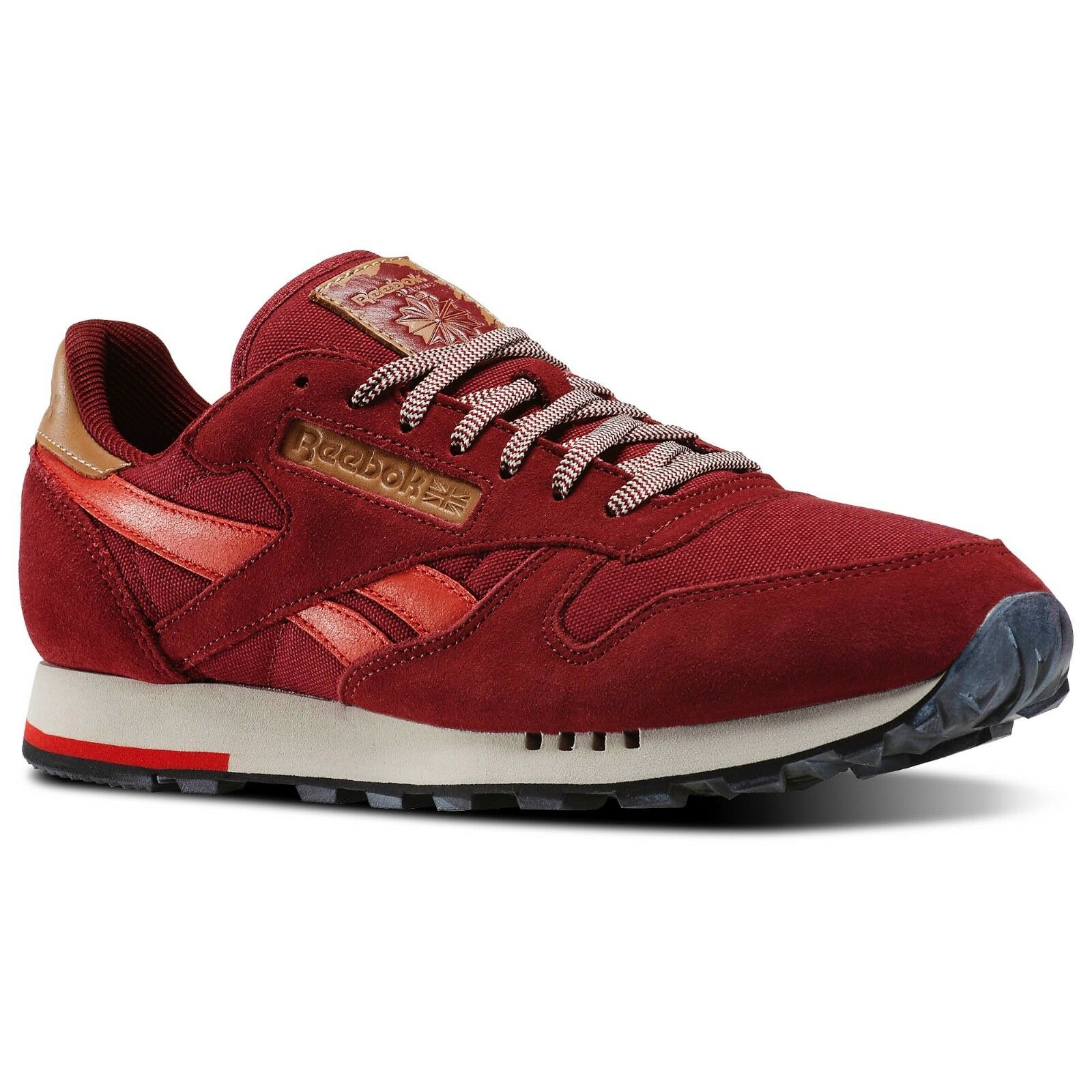 36c44c847bcbbf Reebok Men s Classic Leather Leather Leather Utility Trainers Running Shoes  - V72845 c46a1e