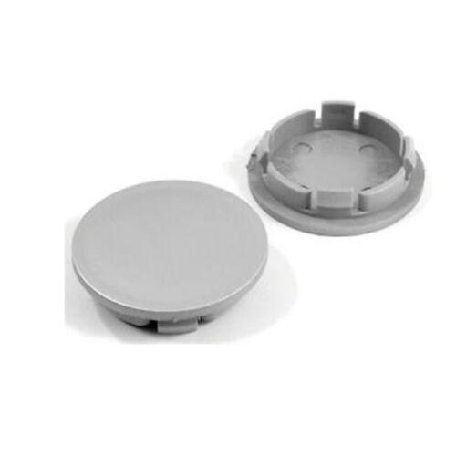 4x CENTRO CERCHI IN LEGA HUB CAPS 66mm// 58 mm GRIGIO PRIMER FINISH Borbet Ronal aluet