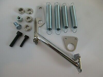 Chrome Steel Carburetor Mount Throttle Return Spring Kit Fit 2300 2305 4150 4160