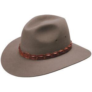 Akubra-Genuine-Coolabah-Traditional-Australian-Made-Bush-Cowboy-Hat-Size-51-65cm