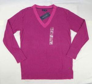 Tommy-Hilfiger-Womens-Sweater-V-Neck-Sweater-size-Medium-14
