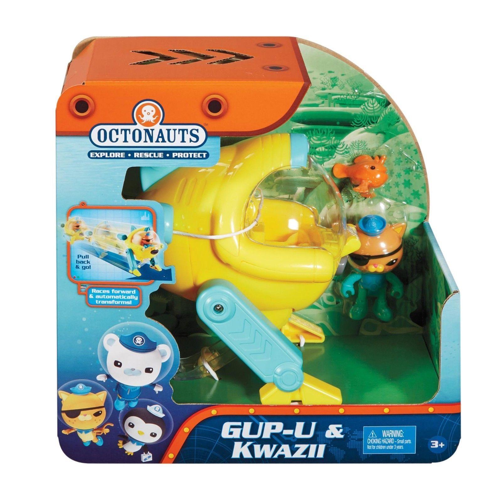Fisher-Price Fisher Price Octonauts Gup-U & Kwazii Toy