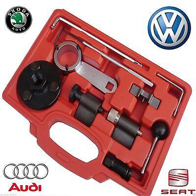 Herramientas de reglaje para correas de transmisi/ón de VW Passat Audi A4 A6 2.5 TDi