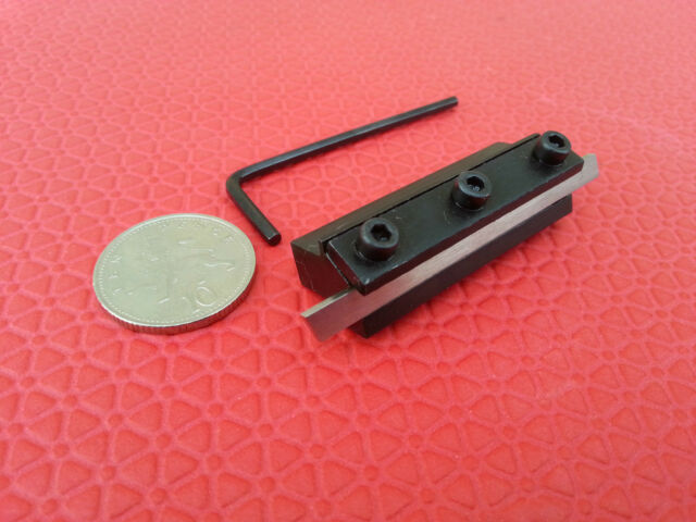 MINI T  TYPE LATHE PARTING TOOL  Cut Off Blade  6mm Shank Fits Emco Unimat lathe