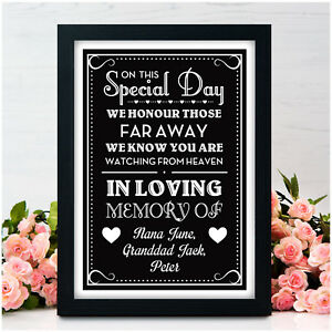 Personalised-Wedding-In-Loving-Memory-Of-Someone-in-Heaven-Memorial-Table-Signs