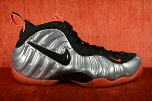 44231cb8c8d CLEAN NIKE AIR FOAMPOSITE PRO BRIGHT CRIMSON SIZE 9 silver orange ...