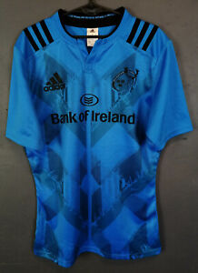 Comme neuf Hommes Adidas union rugby Munster 2015/2016 away shirt jersey maillot taille L
