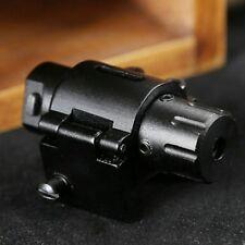 Mini Tactical Red Laser Dot Sight w/ Weaver Rail Mount for Gun Rifle Pistol 20mm