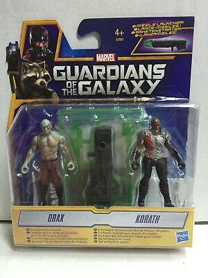 Hasbro Guardiani della Galassia DRAX /& KORATH Action Figure 7 cm MOC 2014