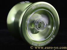 Magic YoYo N9 Limited Edition Green hub-stacked kk bearing aluminium trick yoyo