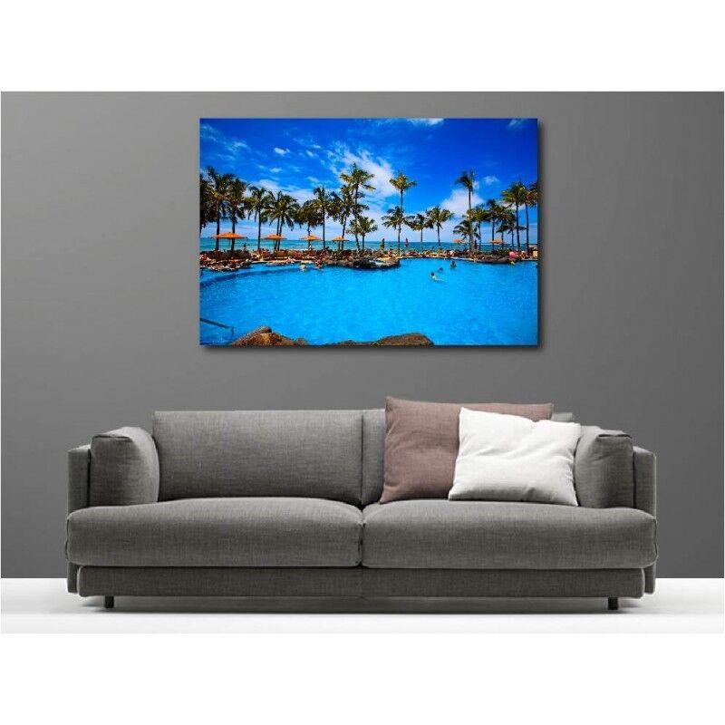 Toison aime les envoie Jeux olympiques, la phrase d'or envoie les un cadeau Tableau toile déco piscine maldives 2856913 fe27b0