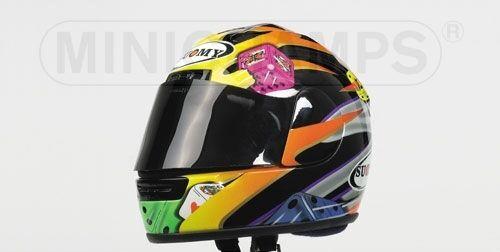 Helmet J.vd Goorbergh 2001 1 2 Replica Model MINICHAMPS