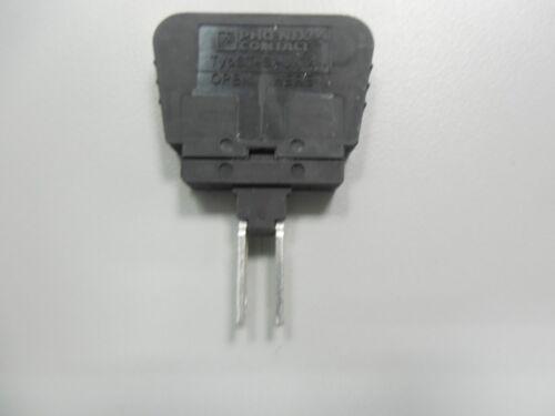 H45.7 W 6.1MM nominal,6.3 A,33.1mm L BLK PHEONIX CONTACT,0921011,Fuse plug