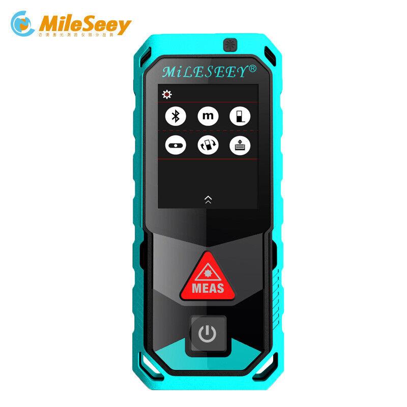Mileseey P7 Telemetro Laser Rotante Touch Screen Laser Metri Blautooth